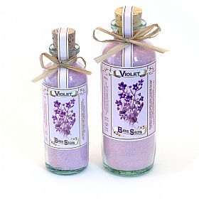 Violet Bath Salts Large