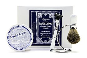 Shaving cream gift set with Shaving Cream design ceramic pot